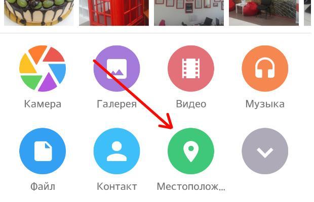 Отправка местоположения в телеграмм