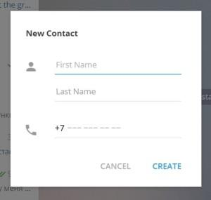 novie kontakti