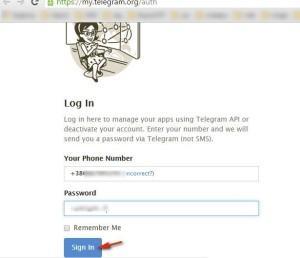 Удаляем аккаунт Telegram