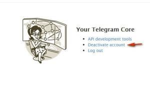 Как удалить аккаунт Telegram