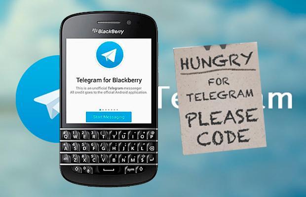 Телеграмм для BB10