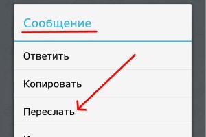 Обмен сообщениями в Телеграмме