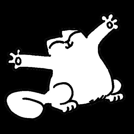 картинки с котом саймона