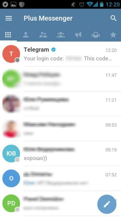 Telegram plus skachat kompyuter
