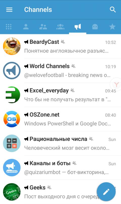 The best: telegram channels ru