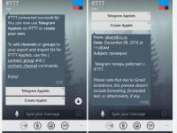 Telegram IFTTT – теперь это реальность