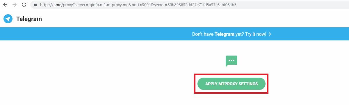 Telegram Proxy List